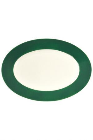 Блюдо KAHLA. Цвет: зеленый