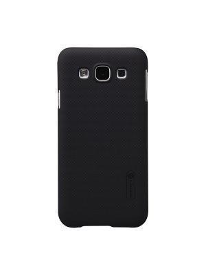 Samsung Galaxy E5 Nillkin Super frosted shield. Цвет: черный
