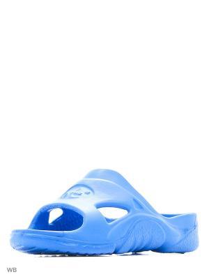 Шлепанцы Дюна. Цвет: светло-голубой