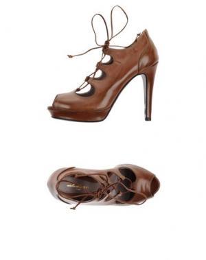 Туфли ATELIER MERCADAL. Цвет: коричневый