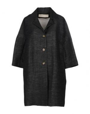 Легкое пальто SHIRTAPORTER. Цвет: стальной серый