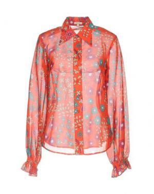Pубашка MANOUSH. Цвет: красный