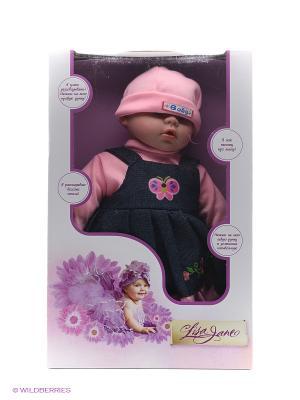 Кукла интерактивная 40см Lisa Jane. Цвет: розовый