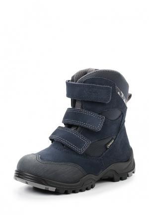 Ботинки XPEDITION KIDS ECCO. Цвет: синий