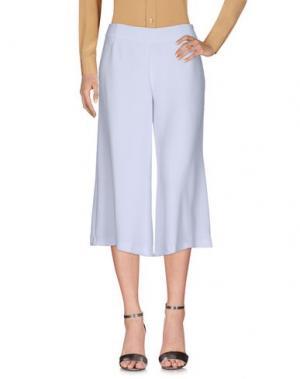 Повседневные брюки ODIEUSES. Цвет: белый