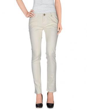 Повседневные брюки ATELIER FIXDESIGN. Цвет: слоновая кость