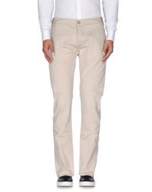 Повседневные брюки 2W2M. Цвет: светло-серый