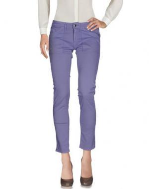 Повседневные брюки QUIKSILVER. Цвет: светло-фиолетовый