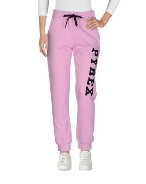 Повседневные брюки PYREX. Цвет: розовый