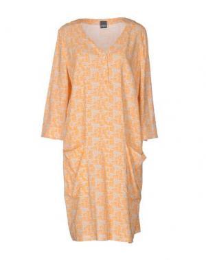 Короткое платье LORENA ANTONIAZZI. Цвет: оранжевый