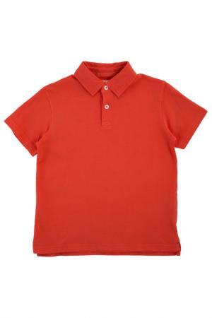Поло HARTFORD. Цвет: оранжевый