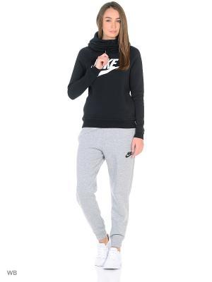 Худи W NSW RALLY HOODIE GX1 Nike. Цвет: черный