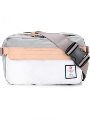 Нейлоновая поясная сумка Hidensity Cordura As2ov. Цвет: серый