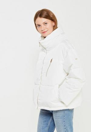 Куртка утепленная Baon. Цвет: белый
