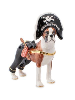 Шкатулка Боксер Пират (Nobility) Nobility. Цвет: черный