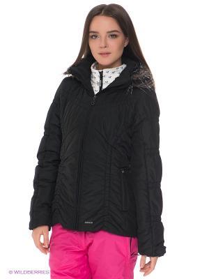 Куртка IGUANA. Цвет: черный
