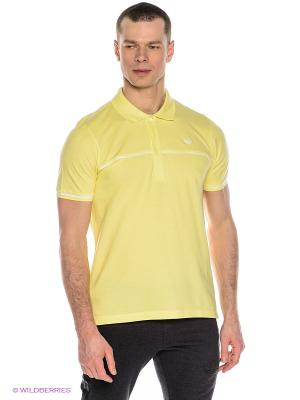 Футболка-поло SA POLO Adidas. Цвет: желтый