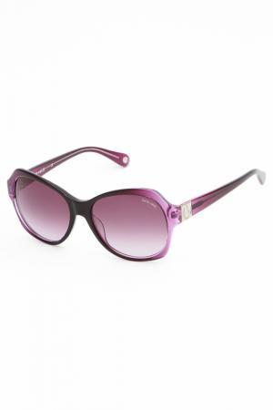 Очки солнцезащитные Lucia Valdi. Цвет: сиреневый