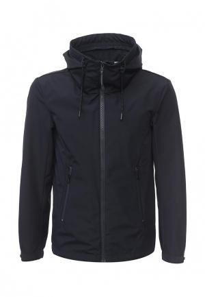 Куртка Sisley. Цвет: синий