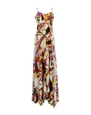 Длинное платье ADELE FADO QUEEN. Цвет: коричневый