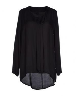 Блузка OLLY DOO. Цвет: черный