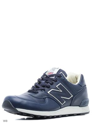 Кроссовки NEW BALANCE 576 MADE IN UK. Цвет: темно-синий