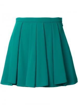Короткая юбка Guild Prime. Цвет: зелёный