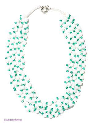 Колье Infiniti. Цвет: белый, зеленый