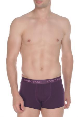 Трусы-боксеры ROMEO ROSSI. Цвет: фиолетовый