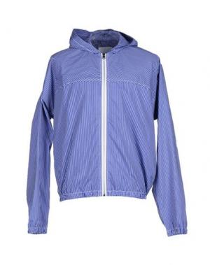 Куртка U CLOTHING. Цвет: темно-синий