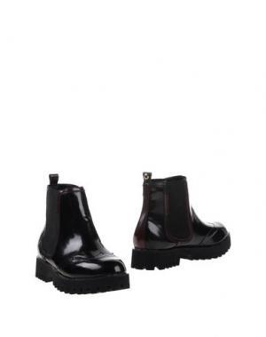 Полусапоги и высокие ботинки BULL BOXER. Цвет: черный