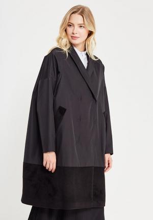 Пальто Parole by Victoria Andreyanova. Цвет: черный