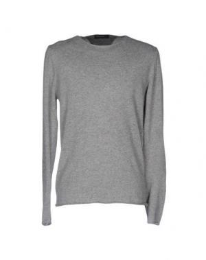 Свитер WOOL & CO. Цвет: серый