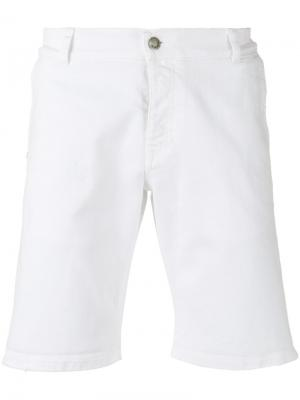 Классические брюки чинос Daniele Alessandrini. Цвет: белый