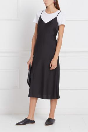 Платье-комбинация VIKTORIA IRBAIEVA. Цвет: черный
