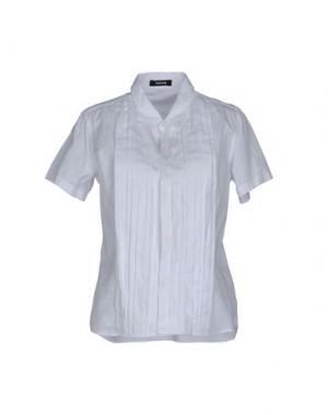 Pубашка ZUCCA. Цвет: белый