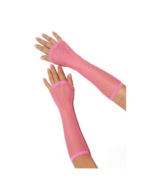 Перчатки Electric Lingerie. Цвет: розовый