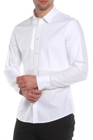 Рубашка Dirk Bikkembergs. Цвет: белый