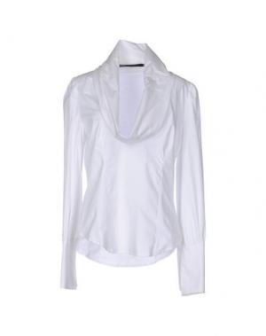 Блузка GAETANO NAVARRA. Цвет: белый