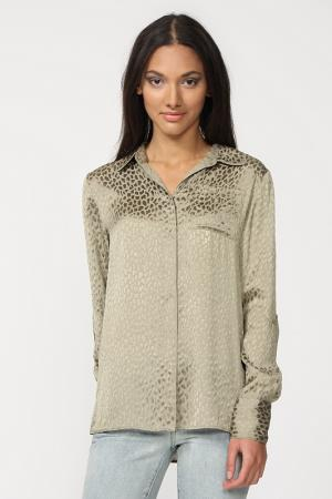 Блуза Elie Tahari. Цвет: бежевый