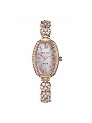 Часы Royal Crown. Цвет: золотистый