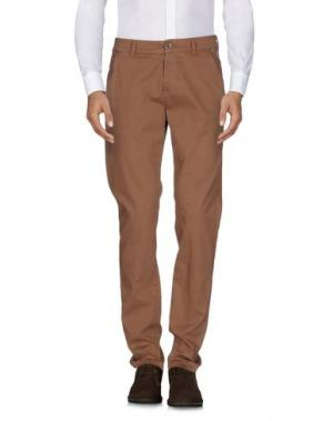 Повседневные брюки CAMOUFLAGE AR AND J.. Цвет: коричневый