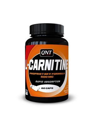 Карнитин L-CARNITINE (60 капс.) 500 мг QNT. Цвет: черный, оранжевый, белый