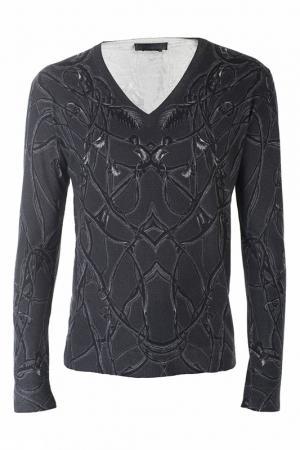 Пуловер Alexander McQueen. Цвет: серый