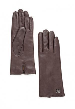 Перчатки Eleganzza. Цвет: коричневый