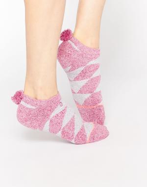Stance Низкие носки Pom. Цвет: розовый