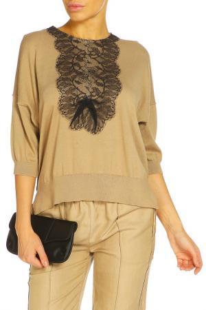 Блуза ZHOR&NEMA. Цвет: песочный