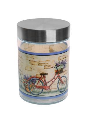 Банка Рынок 1250мл Elff Ceramics. Цвет: серебристый
