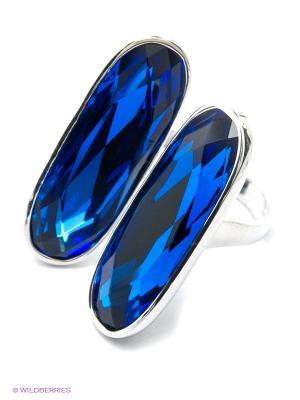 Кольцо SOKOLOV. Цвет: серебристый, синий