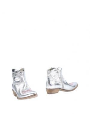 Полусапоги и высокие ботинки OVYE' by CRISTINA LUCCHI. Цвет: серебристый